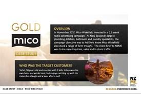 Gold MicoWakefiled Audio Case Study 2020